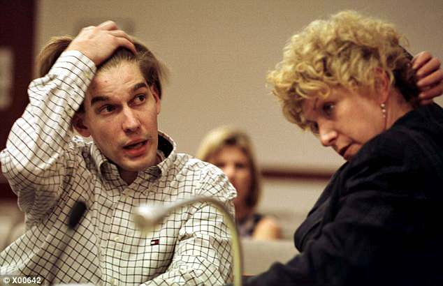 Jeremy Strohmeyer (pictured in 1997) was 18 years old when he confessed to molesting and killing Sherrice Iverson, seven, in a Nevada casino restroom in May 1997