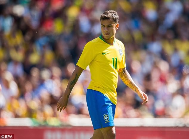 Philippe Coutinho says Mohamed Salah and Neymar can shine at the World Cup this summer