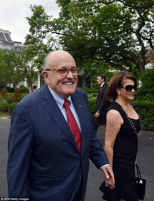 Rudy Giuliani is gushing about his budding relationship with Jennifer Leblanc, who served as Giuliani's finance chair for his failed 2008 presidential campaign