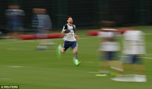 It could be Messi's final shot at winning the World Cup as he turns 31 during the tournament