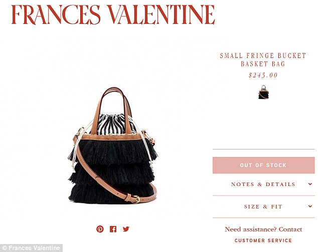 Kate Spades Frances Valentine Label Sells Out Following