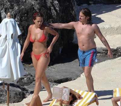 Rita Ora and boyfriend Andrew Watt soak up the sun in Tuscany