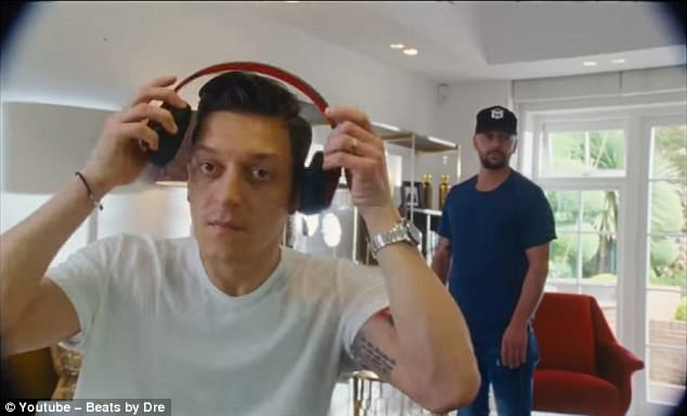 Following Kane, the advert tells story of Germany's Mesut Ozil and trying to retain World Cup