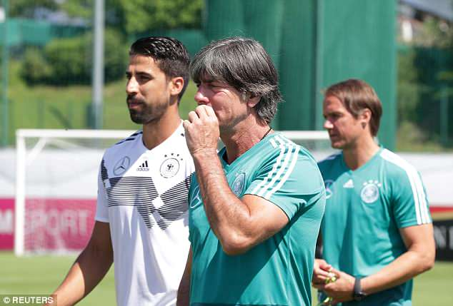 Joachim Low's defending champions Germany are ranked as the No 1 side in the world