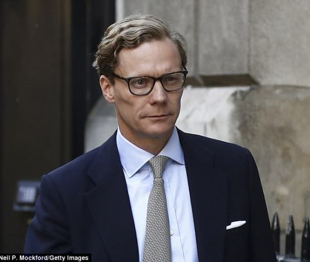 Alexander Nix Leaves After Appearing Before The Digital Culture Media And Sport Committee