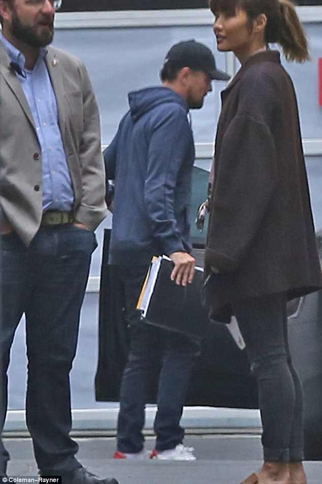 Studying up: He carried a heft binder of notes into the table read