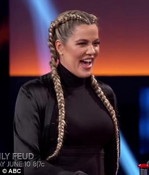 In it to win it! Khloe unleashed her competitive side during her face-off with Kim
