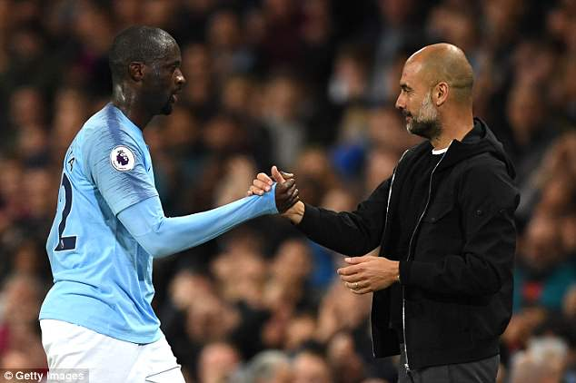 In an interview with France Football, Toure claimed Guardiola does not like picking Africans