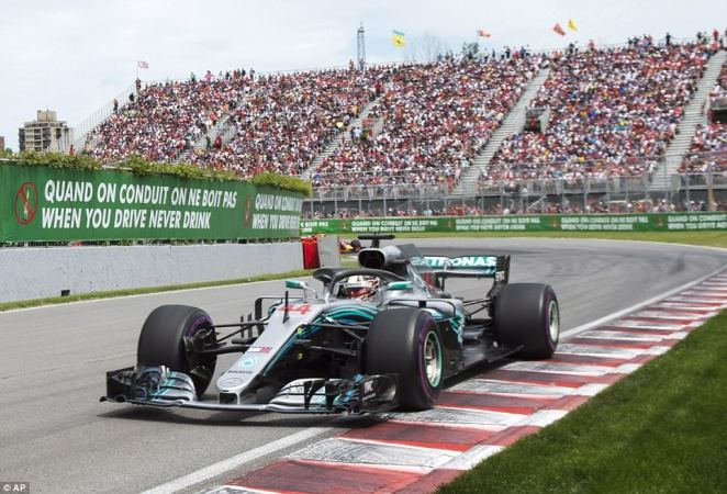 The Mercedes team were heard stating 'now it's hammer time,' only for a downbeat Hamilton to say he was giving his all