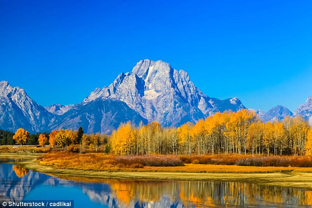 The Grand Teton National Park is in southwestern Wyoming, it is a popular destination for camping, fishing, and sightseeing.