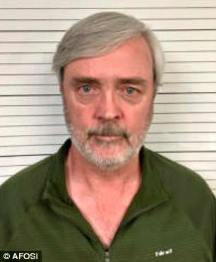 Former Air Force officer William Howard Hughes, Jr., (seen in a current mugshot) was arrested this week. He disappeared 35 years ago