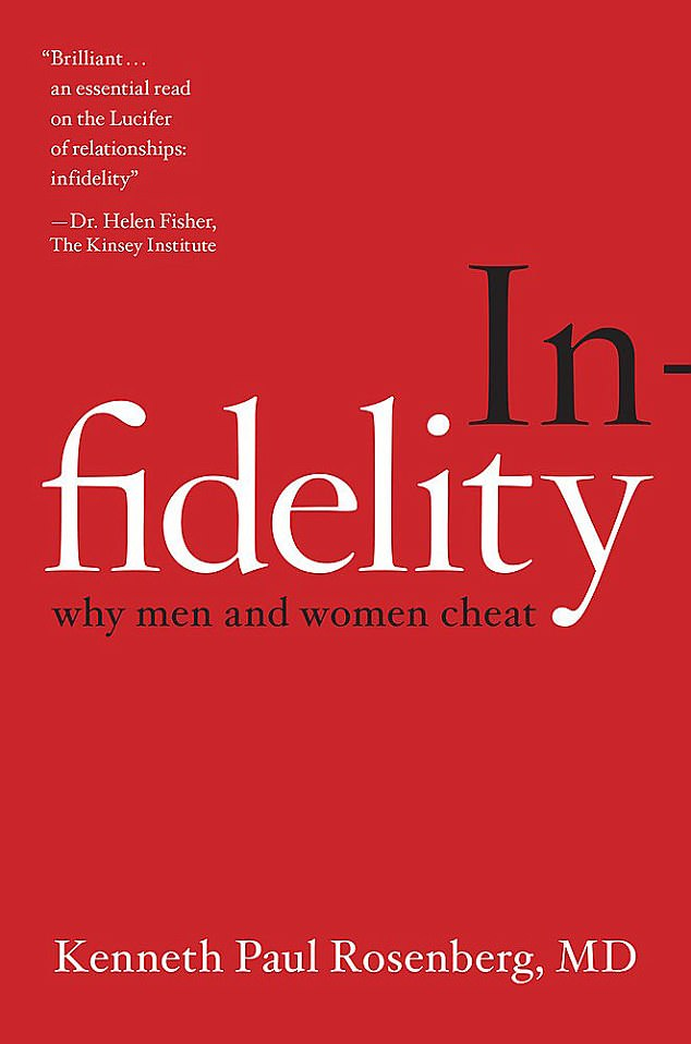 Dr Rosenberg outlines his theories about cheating in his new book titled Infidelity - why men and women cheat
