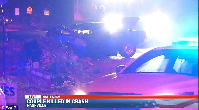 They were killed at around 6pm Saturday on Cato Road at Ashland City Highway in Nashville