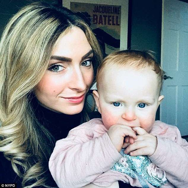 Caroline Ivanov, 29, was at a Brooklyn restaurant when her 15-month-old daughter Chloe began having a seizure Saturday
