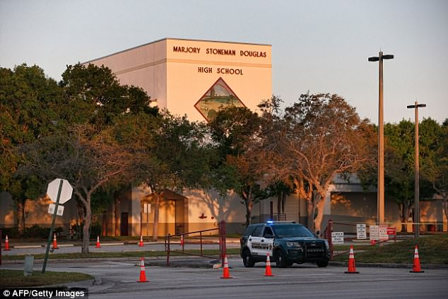 Retired agent Steve Wexler pointed out unlocked gates, unlocked doors and no identification badges for students at Marjory Stoneman Douglas High School