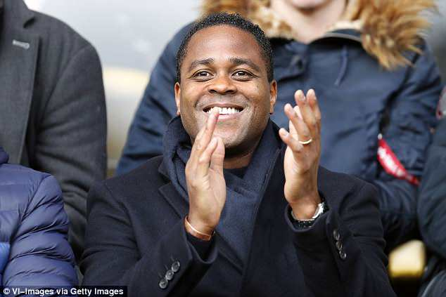 Kluivert's father, ex-footballer Patrick, had advised him to continue his development at Ajax