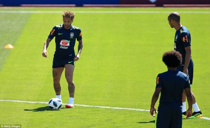 The Paris Saint-Germain superstar will look to spearhead the Brazilian attack in Russia this summer