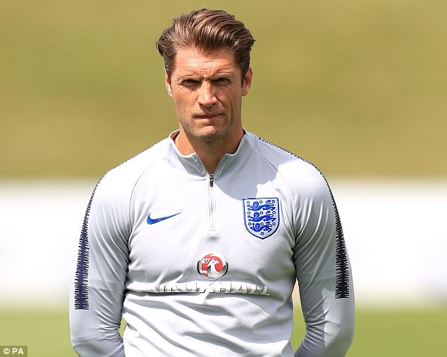 Allan Russell jetted out for the World Cup as part of Gareth Southgate's backroom team