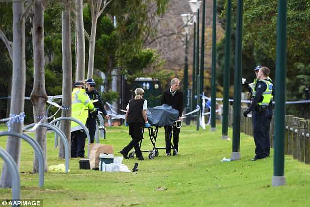 Police are yet to formally identify the body of a woman found on a soccer field in Melbourne