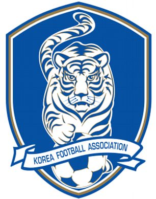 South Korea changed their team crest ahead of the 2002 World Cup