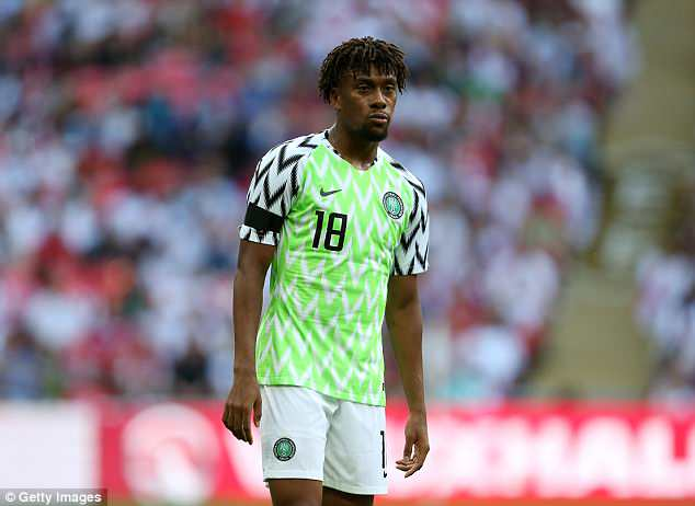 Alex Iwobi looked a different player against England — and must now keep it up