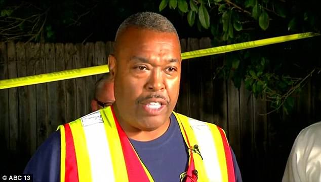 San Antonio Fire Department chief Charles Hood (pictured) says all the people appeared to be in good health