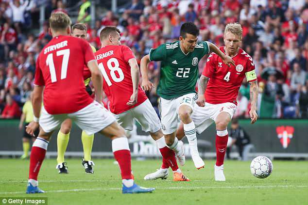 Hirving Lozano, the PSV winger, 22, will be out to scare defences in Russia this summer