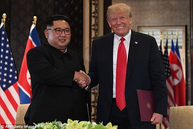 Trump has high hopes the summit with Kim Jong-Un will net him the prestigious honor