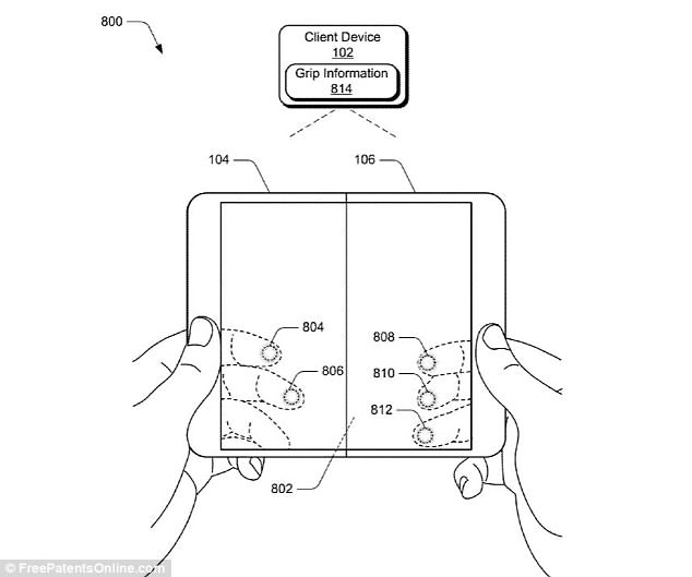 A patent published in April showed off a device with a foldable display, or a 'digital pocket notebook' that's capable of fitting in a user's hands. This is rumored to be 'Andromeda'