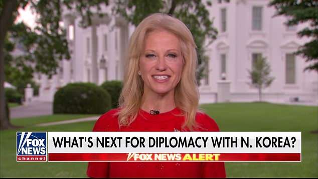 Conway said Trump would earn his win 'unlike the last president'