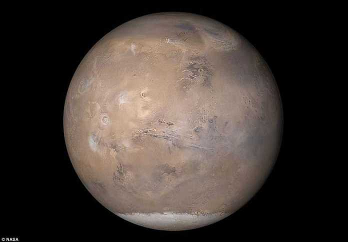 NASA's veteran Mars rover has been hunkering down since last week in the midst of an unprecedented dust storm that is now just days away from becoming a 'planet-circling dust event.'The storm has been growing since the end of May and now covers 14-million square miles (35-million square kilometers) of Mars' surface, or a quarter of the planet