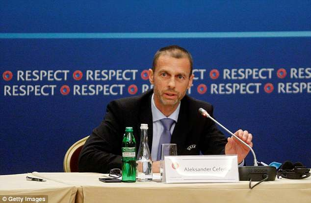 UEFA president Aleksander Ceferin voiced his support of a bid for 2030 from Europe