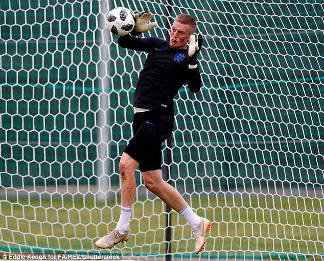 The Everton shot-stopper is expected to start in England opening group game against Tunisia