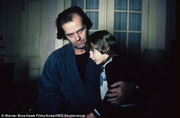 Iconic: 1980's The Shining, which was directed by Stanley Kubrick, starred Jack Nicholson as Jack Torrance with six-year-old Danny Lloyd as his young son
