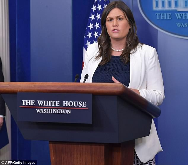 Press Secretary Sarah Sanders has hit back at reports she is planning to leave the White House