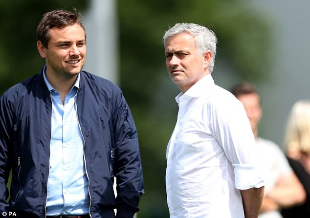 Jose Mourinho (right) thinks England have what it takes for a strong showing at the World Cup