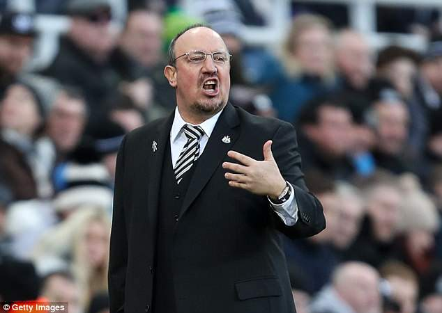 Rafa Benitez's Newcastle face Tottenham, City, Chelsea and Arsenal in their first five games