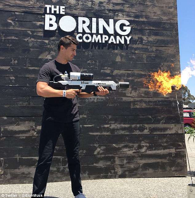 Elon Muskhosted a so-called Pick-Up Party in LA over the weekend, where customers could collect the first batch of 1,000 Boring Company flamethrowers