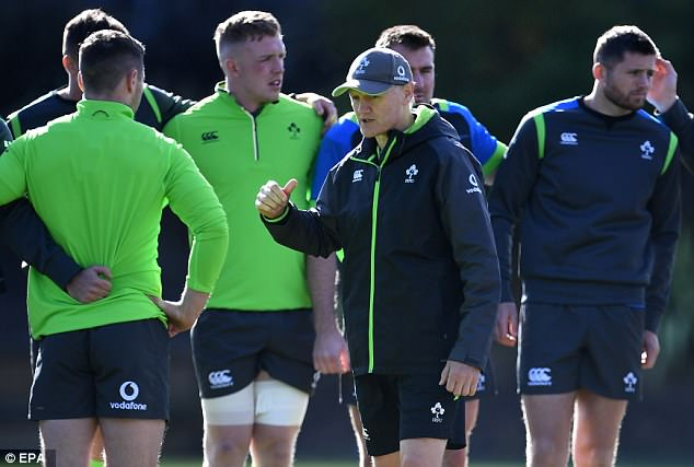Joe Schmidt has made eight alterations to his team in a bid to keep victory alive