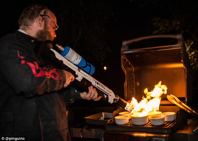 Boring Company founder Elon Musk has revealed the best use for the $500 flamethrower is to makecrème brûlée, something early adopters immediately tested, posting proof online