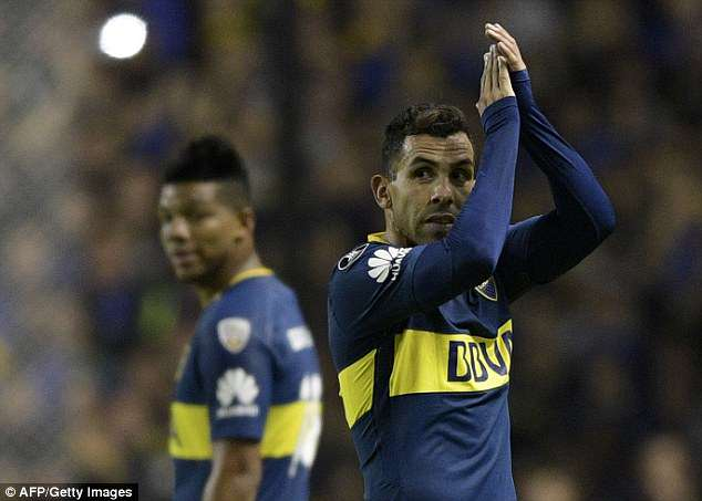 Carlos Tevez admitted 'age is catching up with me' after failing to earn a place at the World Cup