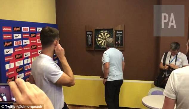 Sports Agenda columnist Sale looks closely at where Cahill's final dart landed on the board