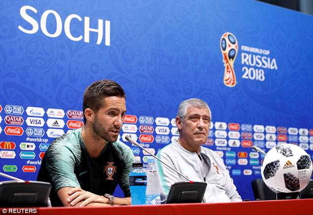 Joao Moutinho also doesn't think Lopetegui's sacking will have a negative effect on Spain