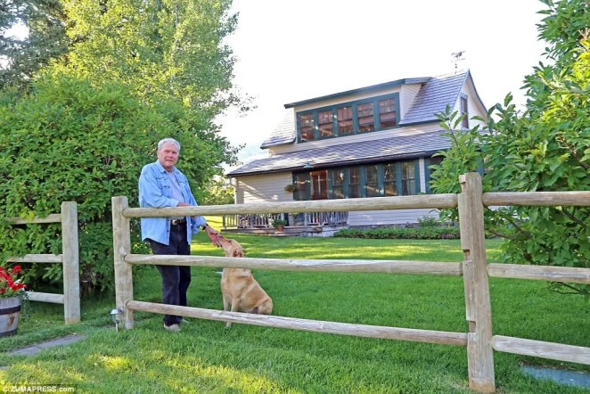 Brokaw with expensive taste:Tom Brokaw (above at his Monatana ranch) is unloading two of his three properties in the wake of sexual misconduct allegations, which he has firmly denied