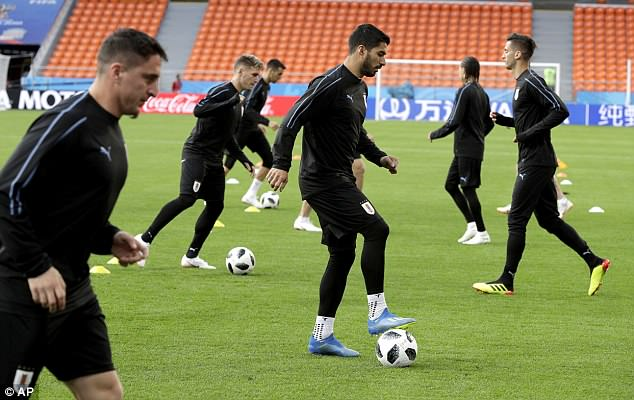 The third chapter will begin on Friday when Suarez's Uruguay take on Egypt in Group A