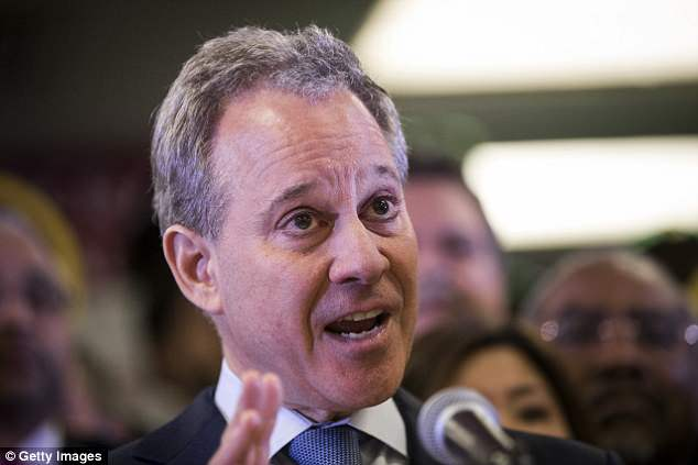 Trump slammed formerNew York Attorney General Eric Schneiderman in his critique of the lawsuit