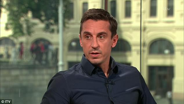 It took Gary Neville less than 120 second to show why ITV loaned him from Sky Sports