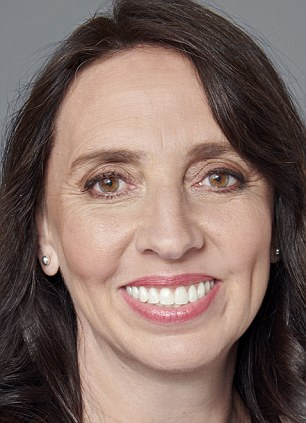 Helen Few, 49,had dental implants with titanium foundations