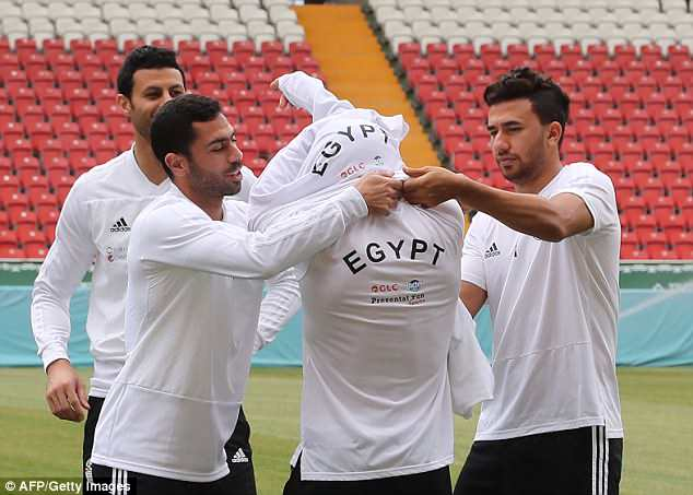 Egypt said that Salah is ready to play against Russia when they meet on Tuesday