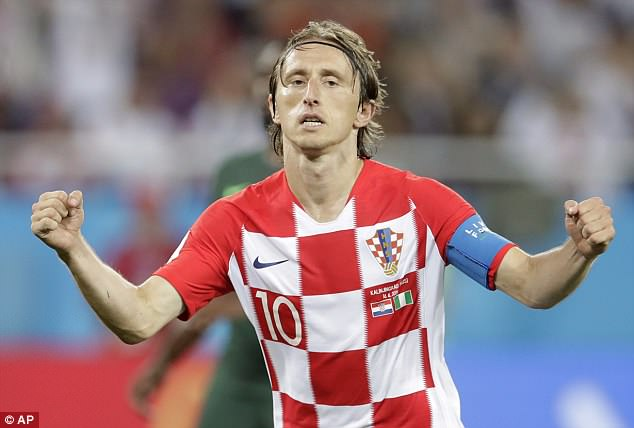 Luka Modric believes Croatia's opening 2-0 World Cup win over Nigeria can give them 'wings'